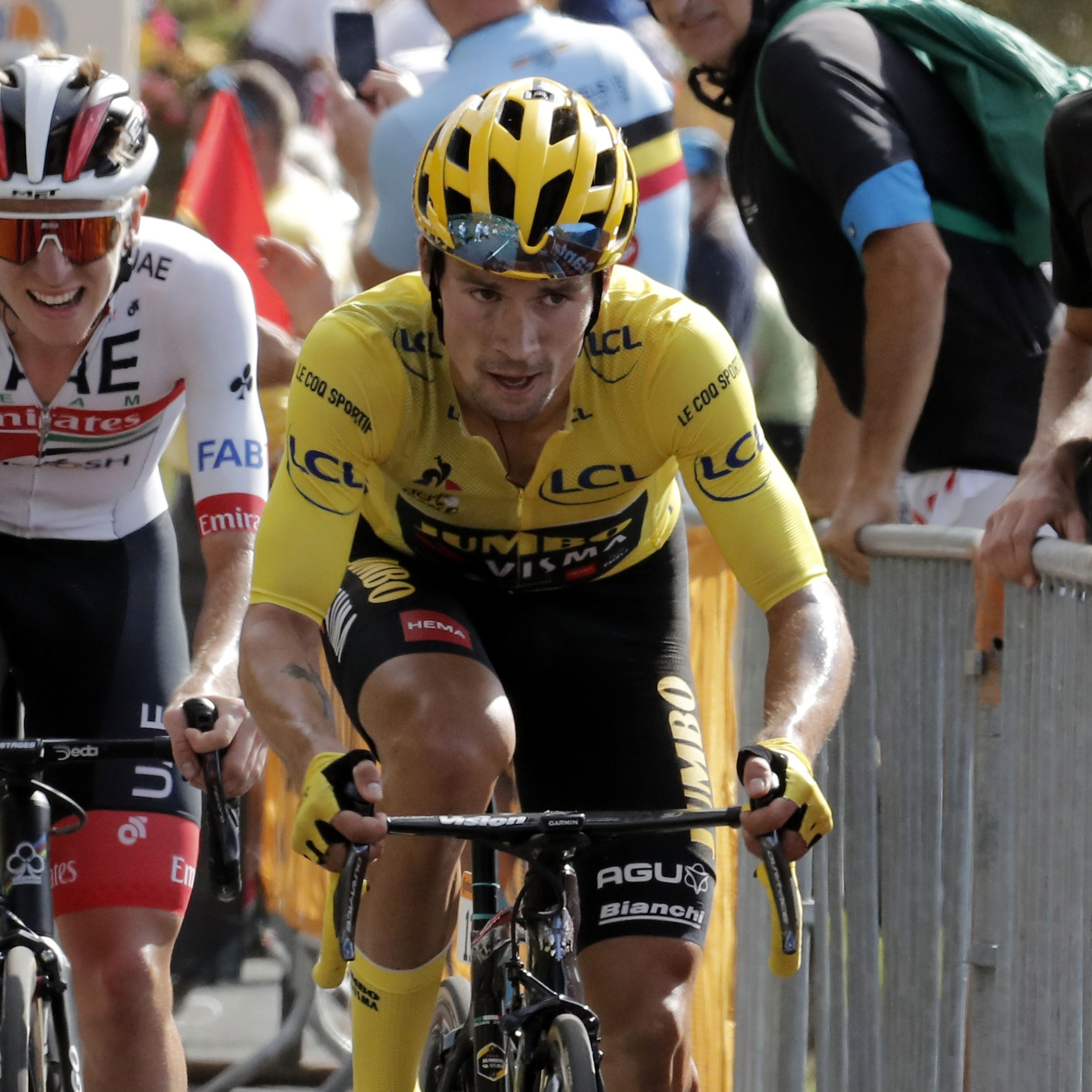 Primoz Roglic Imperial On Tour De France Stage 13 Won By Daniel Martinez The Spokesman Review