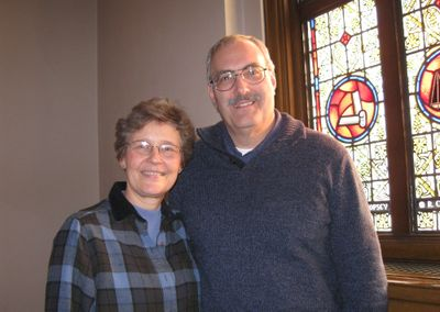 The Rev. Gary Gardell,  with his wife, Kim, will be installed as pastor at Plymouth Congregational Church, 1502 W. Eighth Ave., Sunday after the 10 a.m. services.  (Lisa Leinberger / The Spokesman-Review)