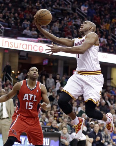 Jarrett Jack was one of three players Cleveland agreed to trade. (Associated Press)