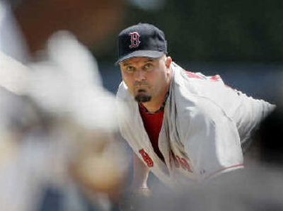 David Wells had a new pitch on Wednesday – an apology.  (Associated Press / The Spokesman-Review)