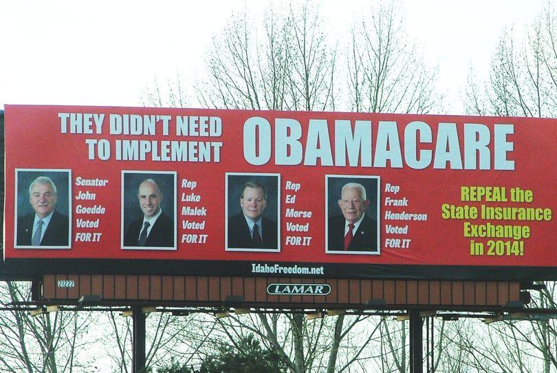 Obama Care Billboard