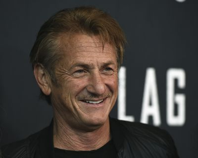 In this Aug. 11, 2021 photo, Sean Penn arrives at the Los Angeles premiere of