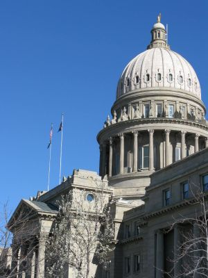 Idaho state Capitol (Betsy Z. Russell)