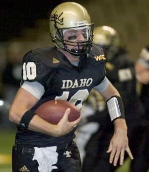 UI QB Nathan Enderle will have to learn from the sidelines.Associated Press  (Associated Press / The Spokesman-Review)