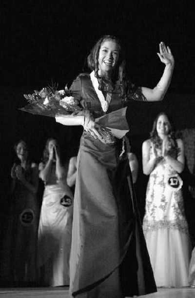Ilene Thompson is the new Junior Miss from Post Falls. She will be the Post Falls reprsentative at the state Junior Miss competition in October.  (Photo courtesy of Glenn Landberg / The Spokesman-Review)