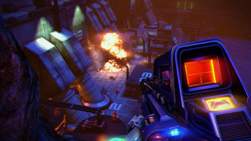 Far Cry 3: Blood Dragon took the core gameplay from its parent title and grafted on a science fiction romp inspired by 1980s action movies.