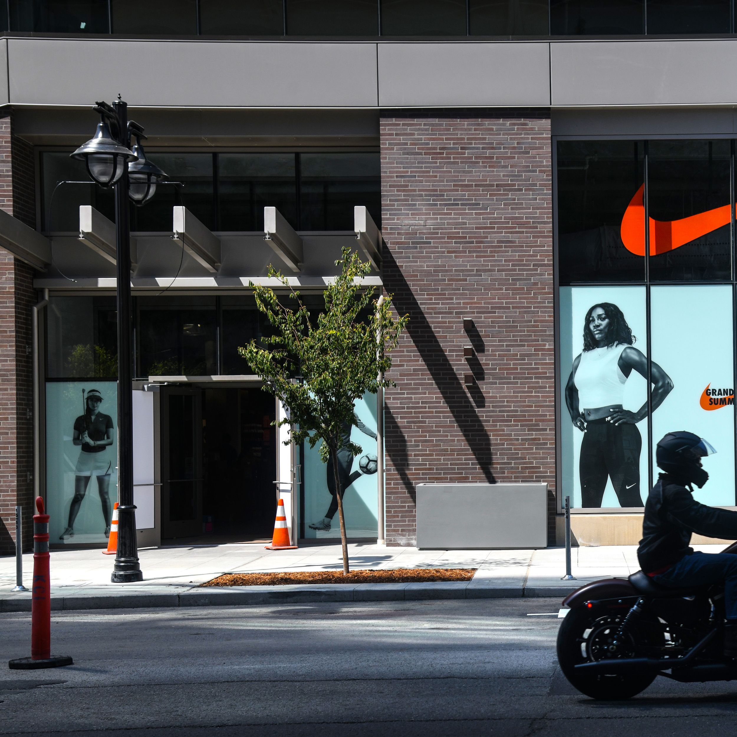 navigare strategia analogia  Nike store to open Thursday in former downtown Macy's building   The  Spokesman-Review