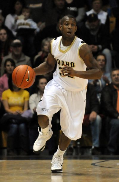 Guard Kashif Watson is Idaho's second-leading scorer and a lockdown defender.  University of Idaho photo (University of Idaho photo / The Spokesman-Review)