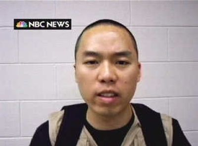 This  NBC News image from April 19, 2007, shows Virginia Tech gunman Cho Seung-Hui. FILE Associated Press  (FILE Associated Press / The Spokesman-Review)