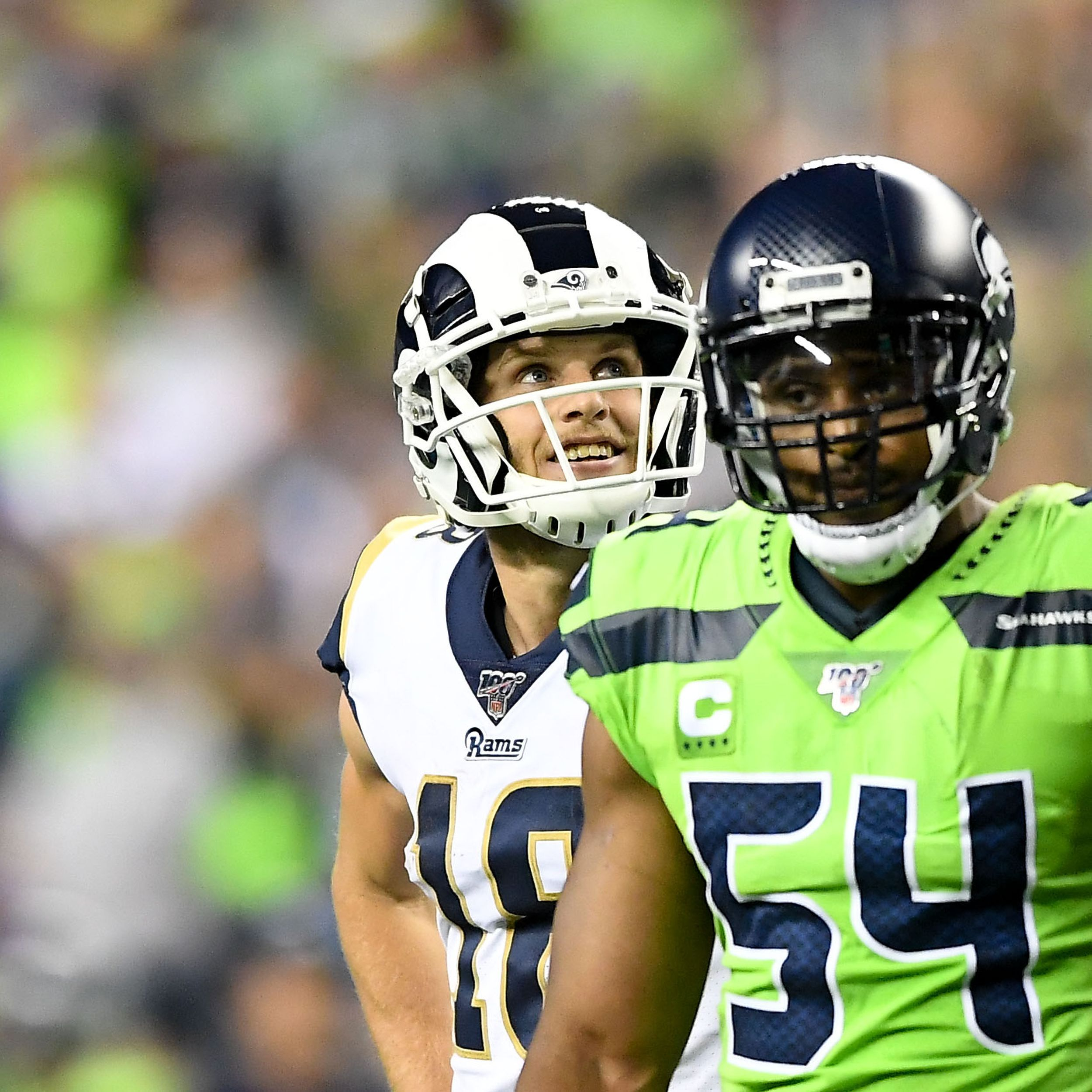 In Seahawks Heavy Washington Cooper Kupp S Family Keeps Los Angeles Rams And Ewu Allegiance Strong The Spokesman Review
