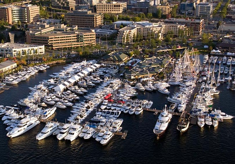 The annual Boats Afloat Show at Lake Union features a variety of craft. (Courtesy)
