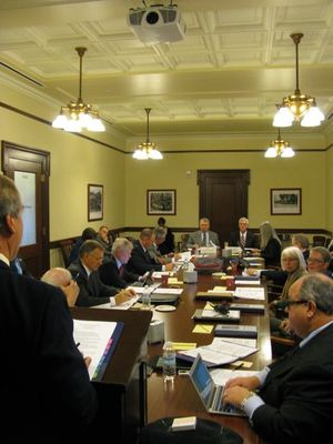 The Legislative Council meets in Boise on Friday morning (Betsy Russell)