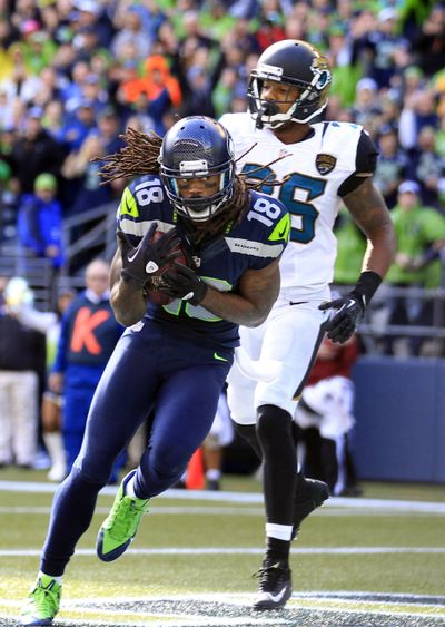 Sidney Rice has played only one full season in three years with the Seahawks. (Associated Press)