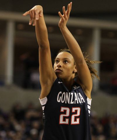 Former West Valley star Shaniqua Nilles is a force off the bench for Gonzaga.
