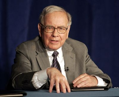 Warren Buffett used a letter to reassure shareholders that Berkshire Hathaway Inc. will withstand the current economy.  (Associated Press / The Spokesman-Review)