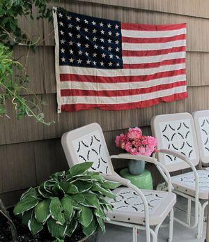 Vintage 48-star flag (Cheryl-Anne Millsap / Photo by Cheryl-Anne Millsap)
