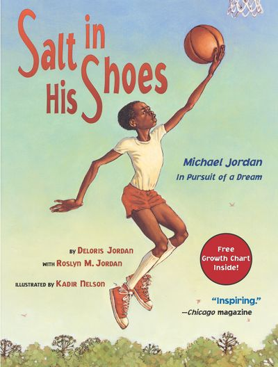 """""""Salt in His Shoes"""" tells the story of how Michael Jordan's parents taught him patience.  (Courtesy of Simon & Schuster Books)"""