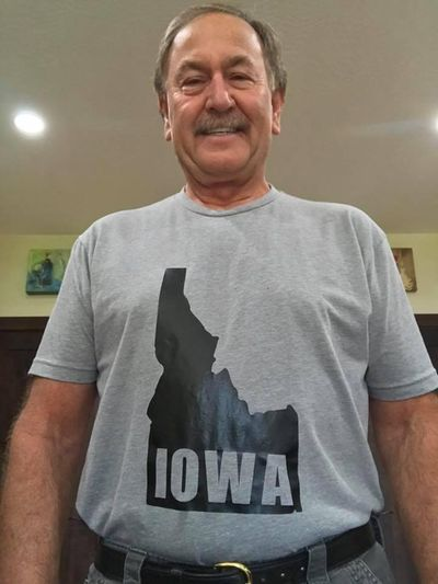 Doug Eastwood, former Coeur d'Alene Parks & Rec director, proposes annexing his former home state of Iowa. (Courtesy of Doug Eastwood)