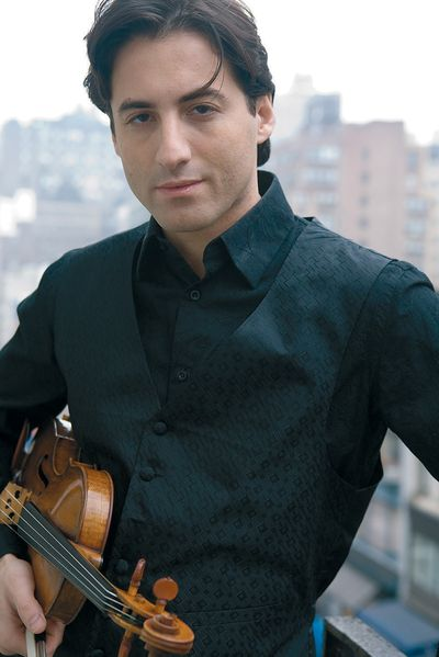 Violinist Philippe Quint is the guest soloist for the Spokane Symphony's season-opening concerts this weekend.