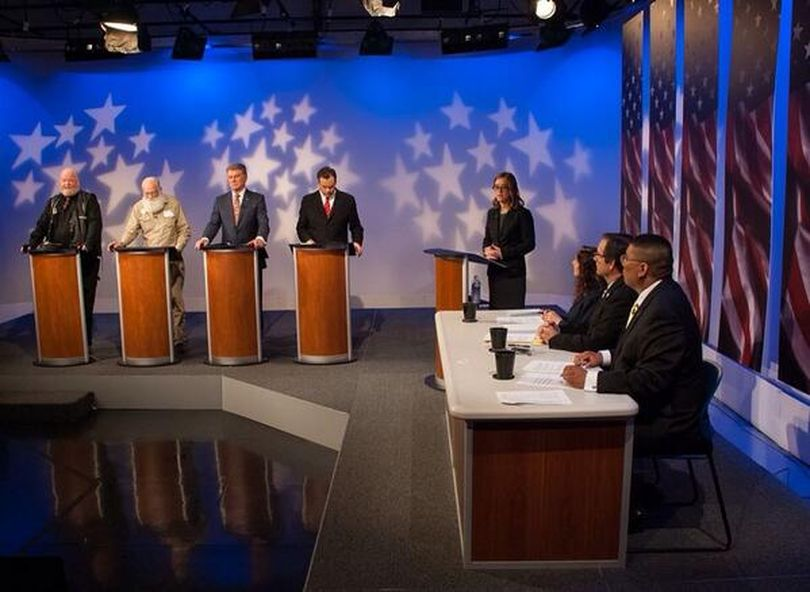 Idaho GOP primary governor's debate on Idaho Public TV (Idaho Public TV)