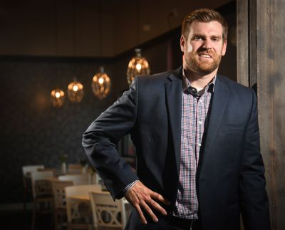 Lance Beck, shown here in September 2018, is the president and CEO of the Greater Spokane Valley Chamber of  (Dan Pelle/The Spokesman-Review)