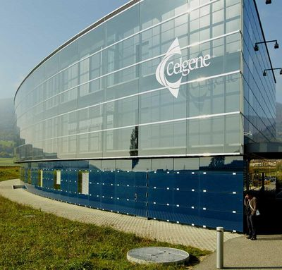 Drugmaker Celgene's adjusted earnings per share are expected to increase by more than 19 percent annually on average over the next few years. (Celgene)