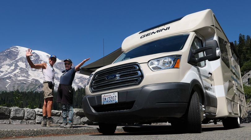 Travel safely during during the pandemic by remaining in your RV bubble. (John Nelson)