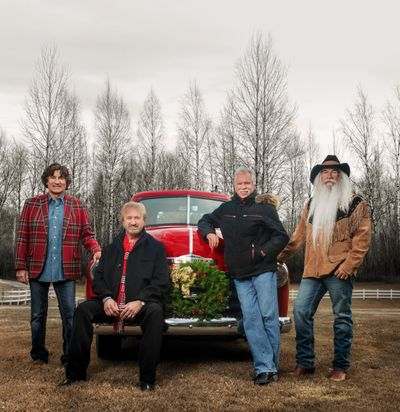 The Oak Ridge Boys - Richard Sterban, Duane Allen, Joe Bonsall and William Lee Golden - will return to Spokane on Wednesday on their 29th Christmas tour. (Oak Ridge Boys)