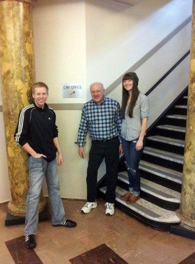 Tony Bowe, Leroy Lemaster and Lindsey Murray.