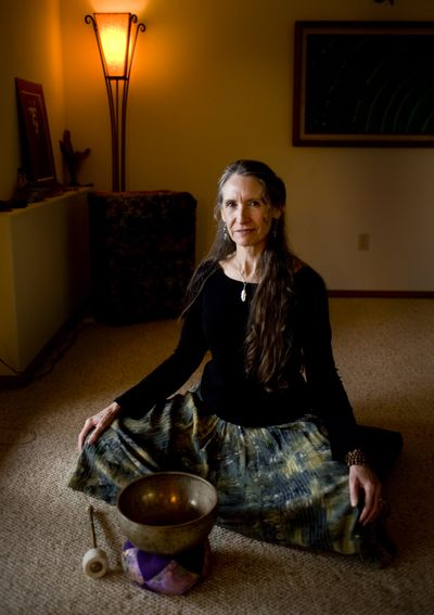 Dori Langevin teaches meditation classes at St. Joseph's Family Center and her home. (Colin Mulvany)