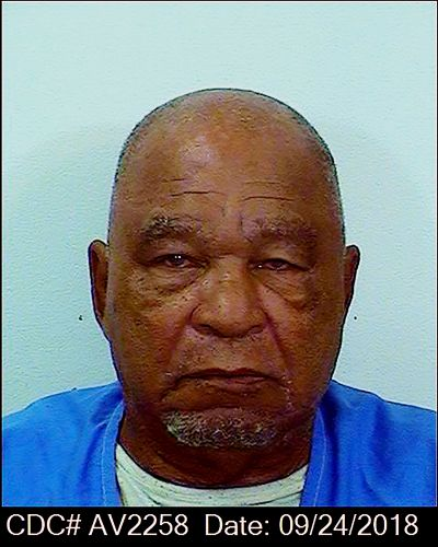 This Sept. 24, 2018, booking photo provided by the California Department of Corrections shows Samuel Little. Little, the man authorities say was the most prolific serial killer in U.S. history, has died. He was 80. California corrections department spokeswoman Vicky Waters said Little died Wednesday, Dec. 30, 2020. He had been serving a life sentence at a California prison since being convicted of three counts of murder in 2013.  (HOGP)