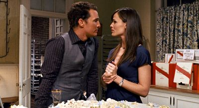 """Matthew McConaughey and Jennifer Garner are shown in a scene from """"Ghosts of Girlfriends Past."""" Warner Bros. (Warner Bros. / The Spokesman-Review)"""