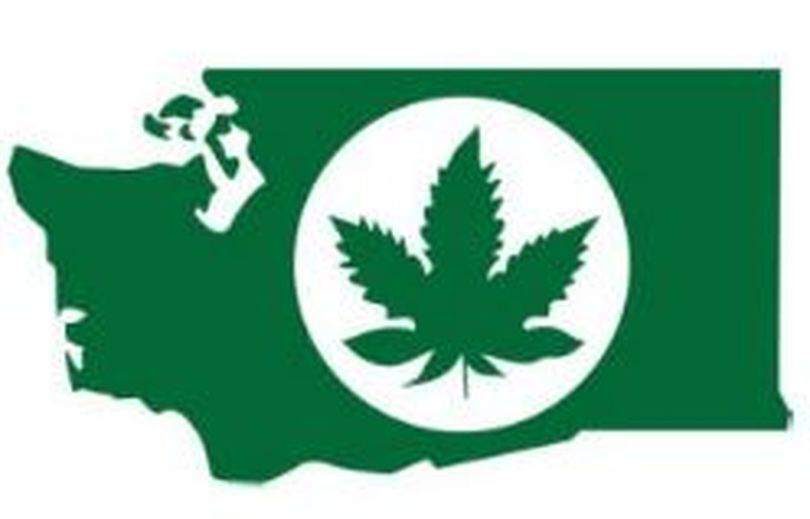 This is the original logo for Washington state recreational marijuana. It was later abandonned by the state Liquor Control Board. (Washington State Liquor Control Board)