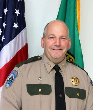 Steve Bear was named Chief of Washington Department of Fish and Wildlife Police on Sept. 1, 2017. (Washington Department of Fish and Wildlife)