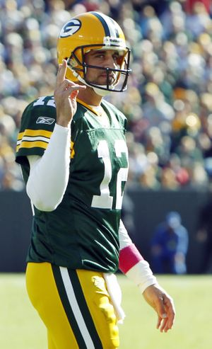 Aaron Rodgers passed all NFL-mandated post concussion tests. (Associated Press)
