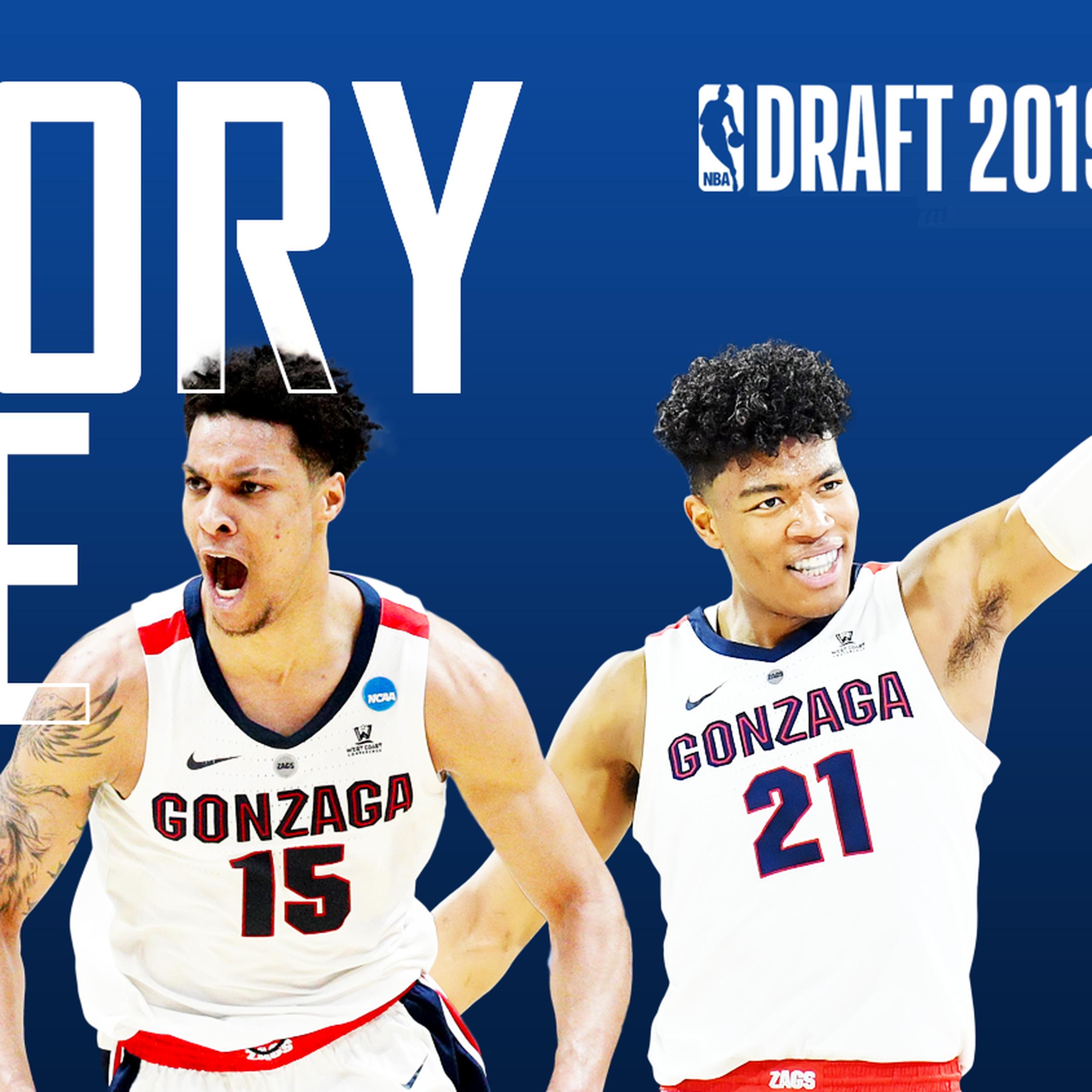 NBA draft updates: History made as Rui Hachimura, Brandon Clarke ...