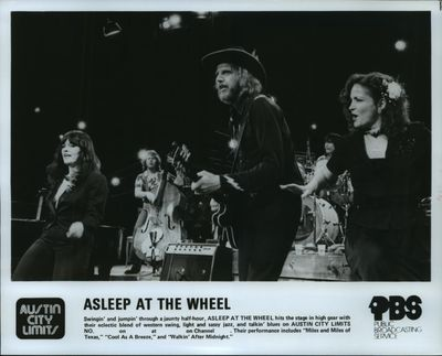 Swingin' and jumpin' through a jaunty half-hour, Asleep at the Wheel hits the stage in high gear with their electric blend of western swing, light and sassy jazz, and talkin' blues on Austin City Limits. Their performance includes