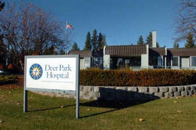The Deer Park Hospital may close from lack of patients and profit.   (Jesse Tinsley / The Spokesman-Review)
