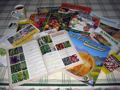 This is a perfect time to get inspired by seed catalogs and plan this year's garden. Special to  (SUSAN MULVIHILL Special to / The Spokesman-Review)
