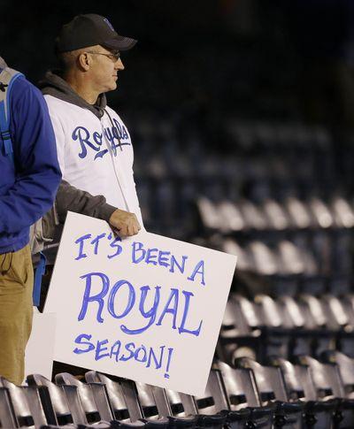 A Kansas City fan puts Royals' amazing season in perspective. (Associated Press)