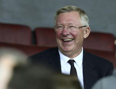 FILE- In this file photo dated Thursday, Sept. 29, 2016, former Manchester United manager Alex Ferguson waits for the start of the match against Zorya Luhansk at Old Trafford, Manchester, England. Manchester United said Saturday May 5, 2018, that former manager Alex Ferguson has undergone emergency surgery for a brain haemorrhage. (Dave Thompson / Associated Press)