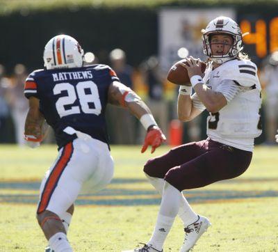Louisiana-Monroe quarterback Garrett Smith is averaging 220 passing yards per game. (Hal Yeager / Associated Press)