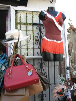 A summer shot from Veda Lux - the weather may be colder now, but the shop still has some hot deals (Pia Hallenberg)