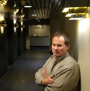 Fred Brown, founder and CEO of Next IT. The company announced it is moving from downtown Spokane to Spokane Valley in fall 2015.  (Spokesman-Review file )