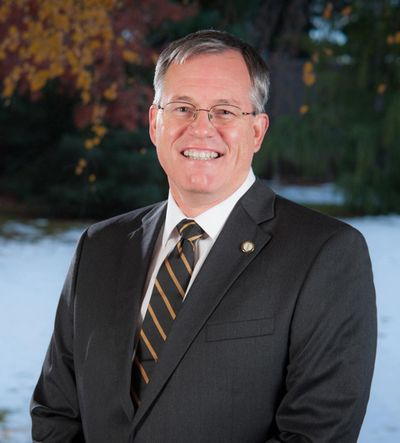 University of Idaho President Chuck Staben told the UI Faculty Senate on Tuesday that a recent campuswide alert regarding tenured journalism professor Denise Bennett had nothing to do with harming her reputation or stopping a student-organized sit-in. (University of Idaho)