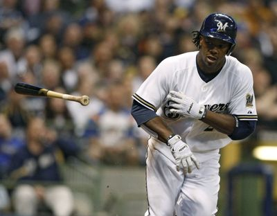 Milwaukee's Rickie Weeks has a tear in his left wrist. (Associated Press / The Spokesman-Review)
