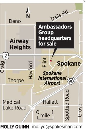 Ambassadors Group is selling its headquarters. (4/17/12) (Molly Quinn / The Spokesman-Review)