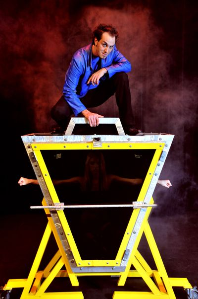 North Central High School graduate Dave Womach now is an international grand illusionist. He plans to return to Spokane for a variety of performances in December.Photo courtesy of Dave Womach (Photo courtesy of Dave Womach / The Spokesman-Review)