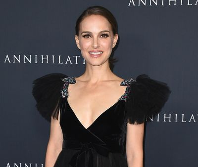 "Natalie Portman arrives Feb. 13, 2018, at the Los Angeles premiere of ""Annihilation"" at the Regency Village Theatre. (Jordan Strauss / Jordan Strauss/Invision/AP)"