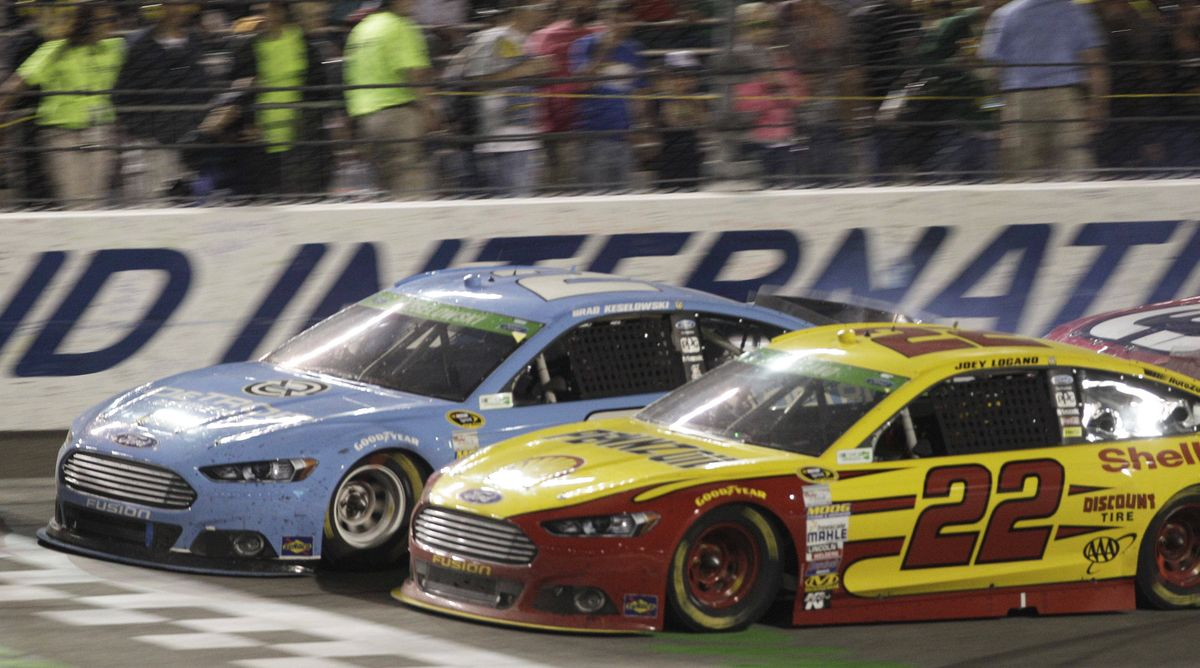 Auto notes: Joey Logano's late move gets him NASCAR victory at Richmond |  The Spokesman-Review